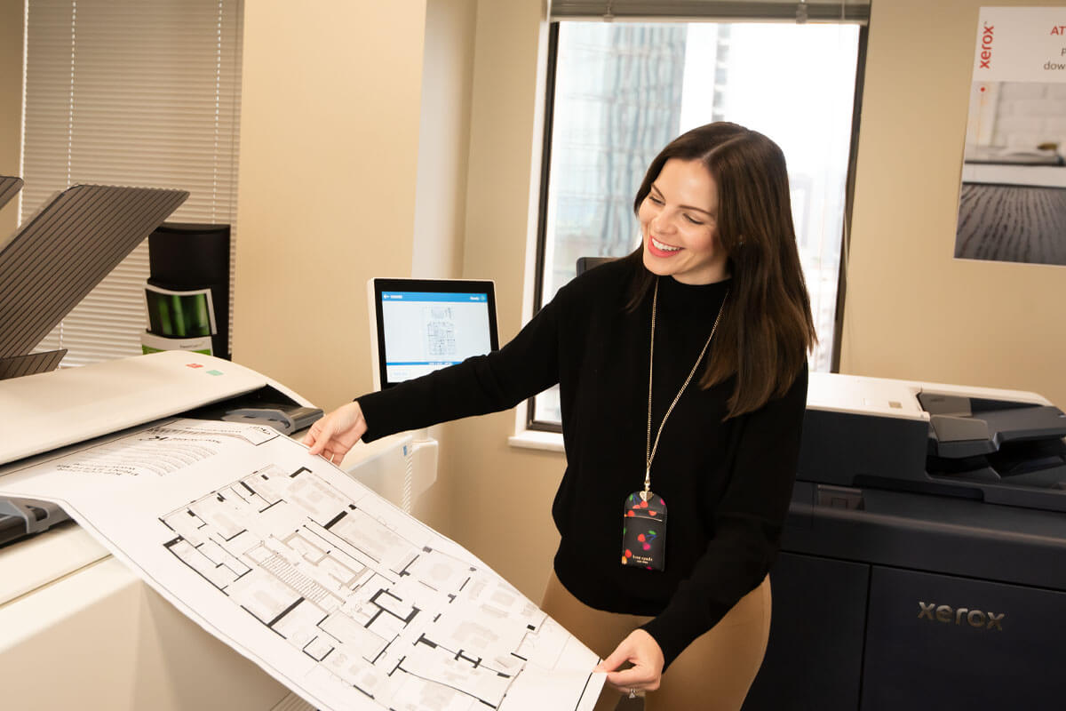 Shop wide format, poster printers and plotters from Connecticut Business Systems, A Xerox Business Solutions Company